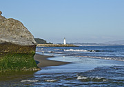Santa Cruz Coastline - California Print by Brendan Reals