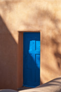 New Mexico Photos - Santa Fe Portal by Steve Gadomski