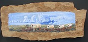 Rock Reliefs Originals - Santa Fe Trail by Don Hutchison