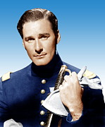 Errol Posters - Santa Fe Trail, Errol Flynn, 1940 Poster by Everett