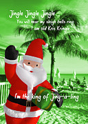 Misfit Posters - SANTA ISLAND quote Poster by JAMART Photography