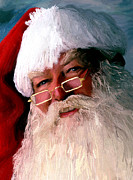 Portraits Art - Santa by James Shepherd