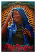 Religious Art Digital Art Originals - Santa Maria by Nelson Dedos Garcia