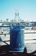 Lola Connelly Metal Prints - Santa Monica Pier Metal Print by Lola Connelly