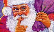 Christmas Pastels - Santa by Valerian Ruppert