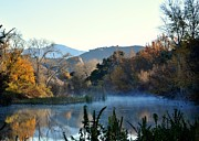 Southern California Photo Originals - Santa Ynez river by Matt MacMillan