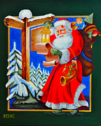 Red Robe Originals - Santas list by Jeanette Keene
