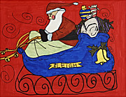 Saint Nick Originals - Santas Sleigh by Stephanie Ward
