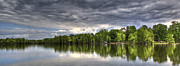 Donny Metal Prints - Santee - Panoramic Metal Print by Donni Mac