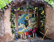 Santiago Apostel Chimayo Print by Kurt Van Wagner