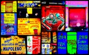 Latino Posters - Santiago Funky Walls  Poster by Funkpix Photo Hunter