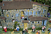 Crib Art - Santons. Provence by Bernard Jaubert