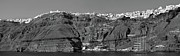 Greek Originals - Santorini Panoramic. by Terence Davis