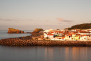 Village By The Sea Photo Posters - Sao Roque at sunrise Poster by Gaspar Avila