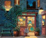 Night Cafe Painting Framed Prints - Sapore Di Mare Framed Print by Guido Borelli