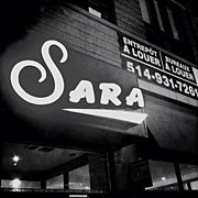 Signage Photos - #sara #blackandwhite #bw #sign #signage by Donny Bajohr