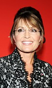 Most Photo Framed Prints - Sarah Palin At Arrivals For Time 100 Framed Print by Everett