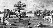 Negro Framed Prints - Saratoga, New York, 1794 Framed Print by Granger