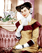 White Gloves Photo Prints - Saratoga Trunk, Ingrid Bergman, 1945 Print by Everett