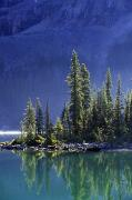 British Columbia Prints - Sargents Point, Lake Ohara, Yoho Print by John Sylvester