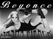 Beyonce Prints - Sasha Fierce Print by Kia Kelliebrew