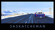 Saskatchewan Framed Prints - Saskatchewan Beauty Poster Framed Print by Neil Woodward