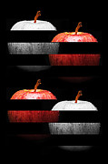 Fruits Digital Art - Sassy Apple Slices by Andee Photography