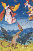 Photo Researchers - Satan As A Wyvern-Liber Floridus