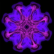 Concentration Digital Art - Satin Aura by Shalom - Designing The Beyond