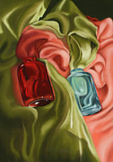 Silk Pastels - Satin Embrace by Melodie Douglas