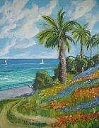 Large Scale Originals - Saturday afternoon Catalina island by Terrence  Howell