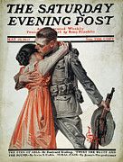 Embrace Art - Saturday Evening Post by Granger