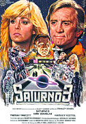 1980 Framed Prints - Saturn 3, Aka Saturn City, Aka Saturno Framed Print by Everett