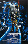 1980 Framed Prints - Saturn 3, Aka Saturn City, Poster Art Framed Print by Everett
