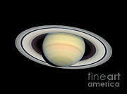Surveys Prints - Saturn, March 2004, Hst Image Print by Space Telescope Science Institute / NASA