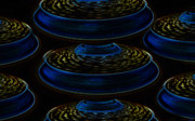 Saucers Framed Prints - Saucers Framed Print by David Lee Thompson