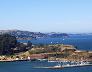 Golden Gate Photo Originals - Sausalito Bay by Dennis Jones