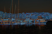 Sausalito Digital Art - Sausalito Bay by Donine Wellman