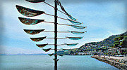 Sausalito Metal Prints - Sausalito Coast Metal Print by Joan  Minchak