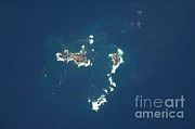 Aerial Photograph Photos - Savage Islands, Atlantic Ocean by NASA/Science Source