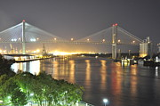 Pictures Photo Originals - Savannah GA Bridge by Murray Parker