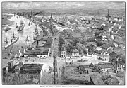 American City Prints - Savannah, Georgia, 1883 Print by Granger