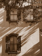 Old Windows Posters - Savannah Sepia - Windows Poster by Carol Groenen