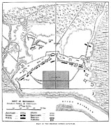 1779 Photo Posters - Savannah Siege Map, 1779 Poster by Granger