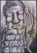 Blessings Drawings - Save by Abhilash Am