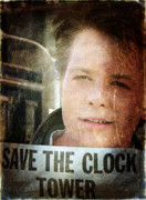 Fox Digital Art - Save the Clock Tower by Andrea Barbieri