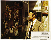 Sideburns Photo Framed Prints - Save The Tiger, Jack Lemmon, 1973 Framed Print by Everett