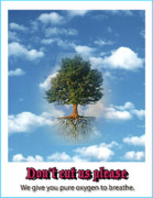 Global  Awareness Digital Art - Save Trees by Shilpi Bharil