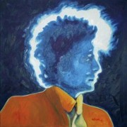 Bob Dylan Paintings - Saved by Natasha Laurence