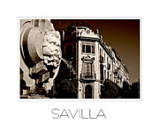 J R Baldini M Photog Cr - Savilla Spain Fountain